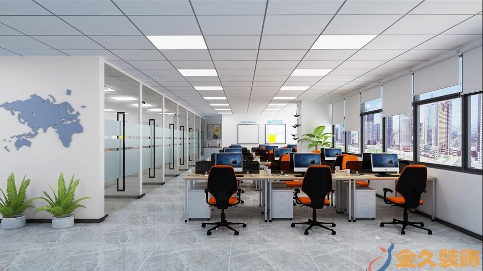 办公室装修矿棉板吊顶