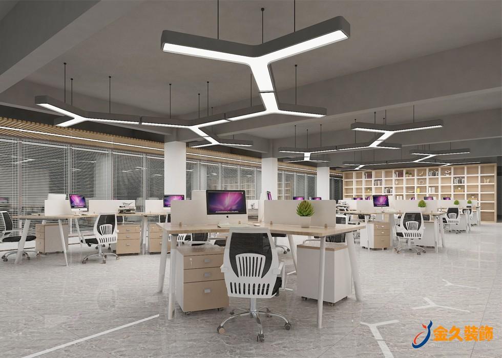 办公室装修开放式吊顶