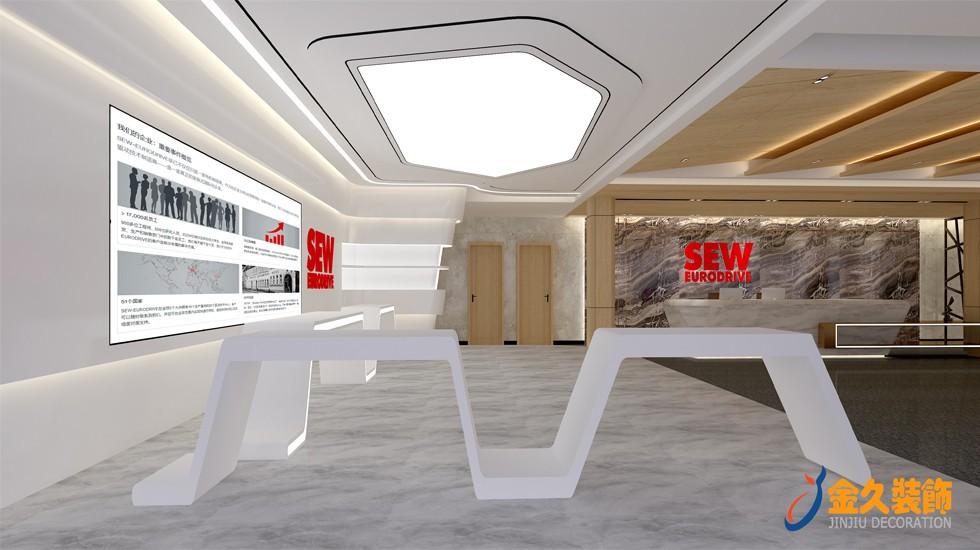 办公室装修软膜造型天花