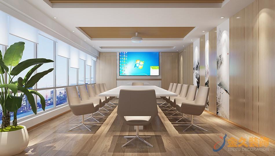 办公室会议室装修设计效果图