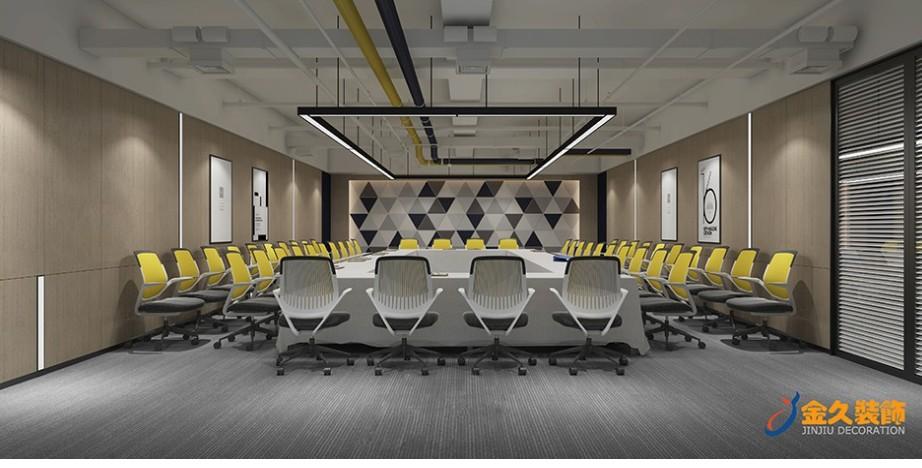 广州会议室装修效果图