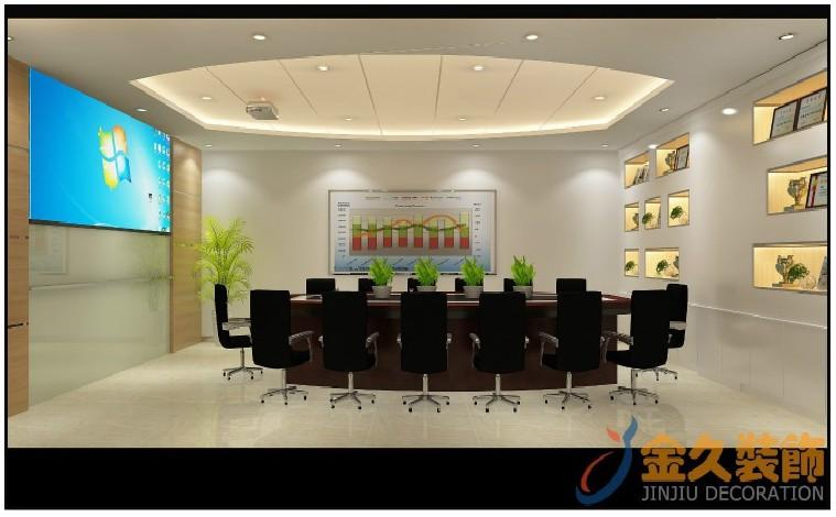 300平米办公室装修效果图