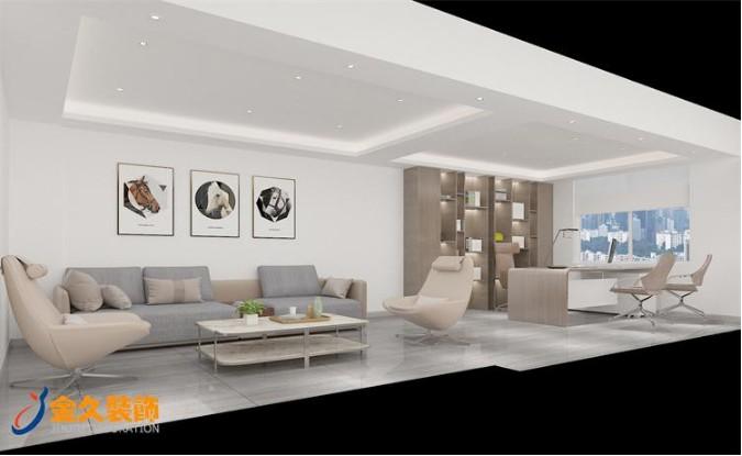 现代风格经理室装修设计效果图
