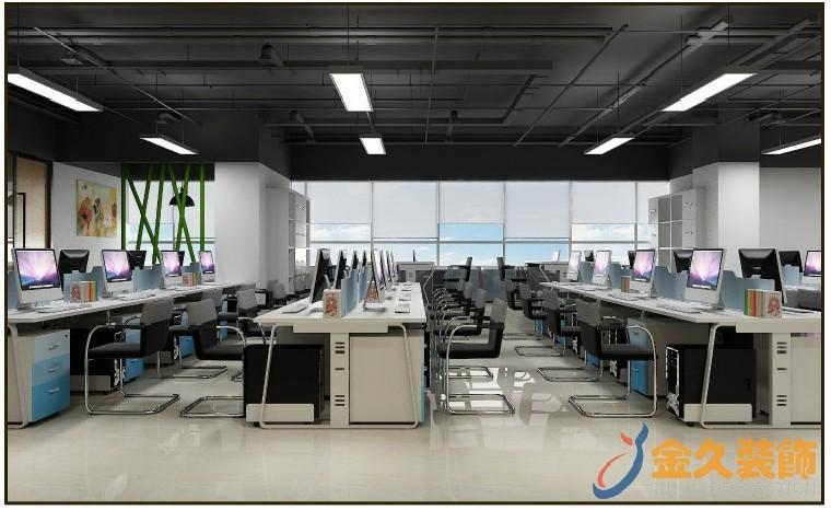 办公室装修灯光的选择方法