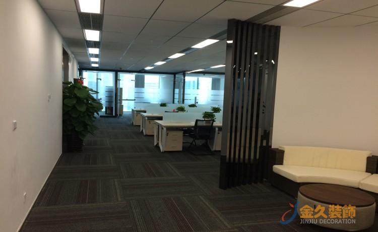 广州办公室装修如何设计前厅背景?前厅背景怎么设计好