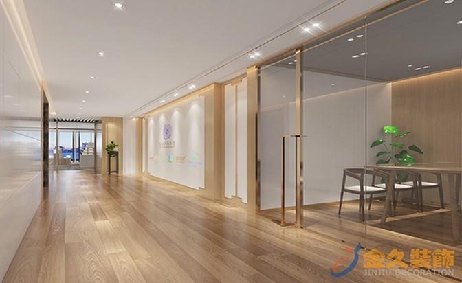 广州办公室装修走廊过道如何装修设计?