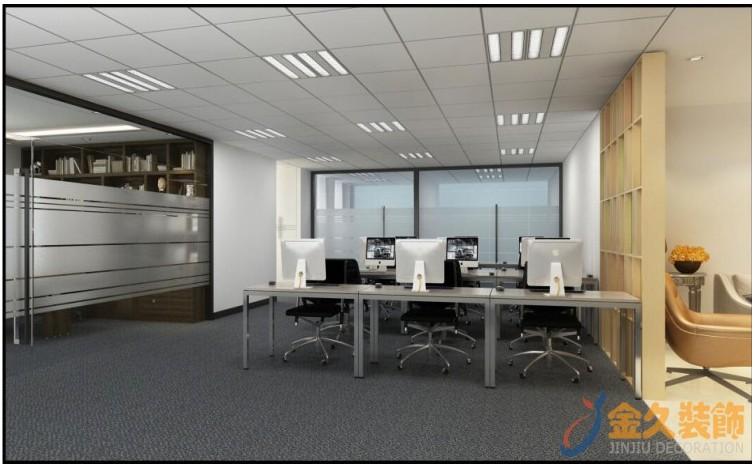 广州办公室装修效果图