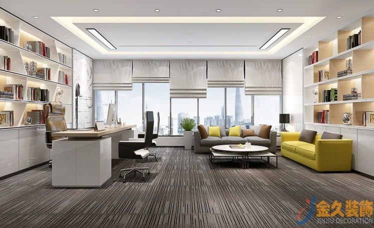 装修办公室适合什么颜色 ?怎么搭配更吸引人