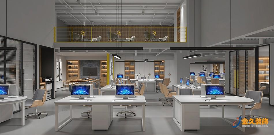 工业风办公室装修费用及办公室装修风格