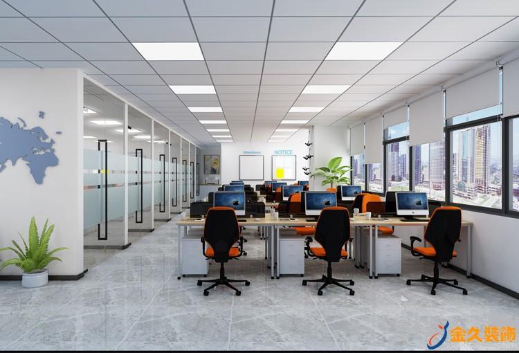敞开式办公室怎么装修?敞开式办公室怎么设计