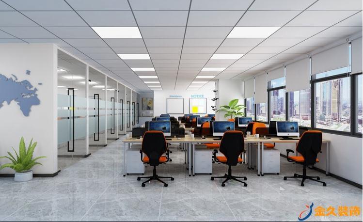 企业办公室怎么设计?企业办公室装修特点