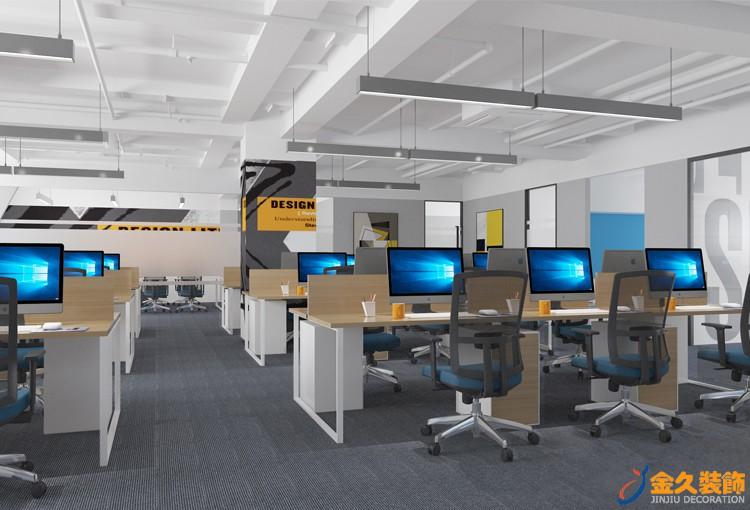 现代极简办公室装修风格怎么设计,办公室装修风格特点