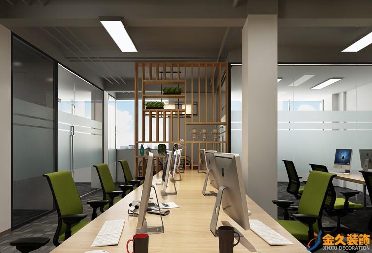 办公室为什么要装修玻璃隔断?玻璃隔断需要注意什么