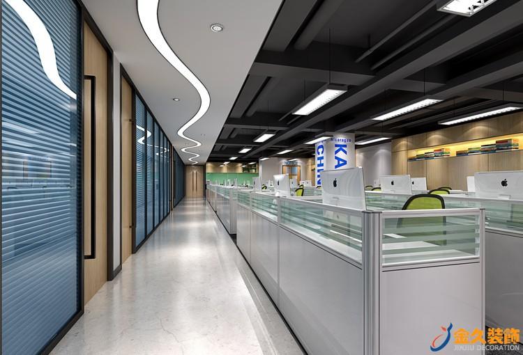 办公走廊怎么装修设计?办公室走廊装修注意事项