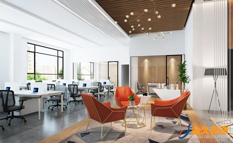 140平米办公室装修怎么设计?办公室装修设计方案