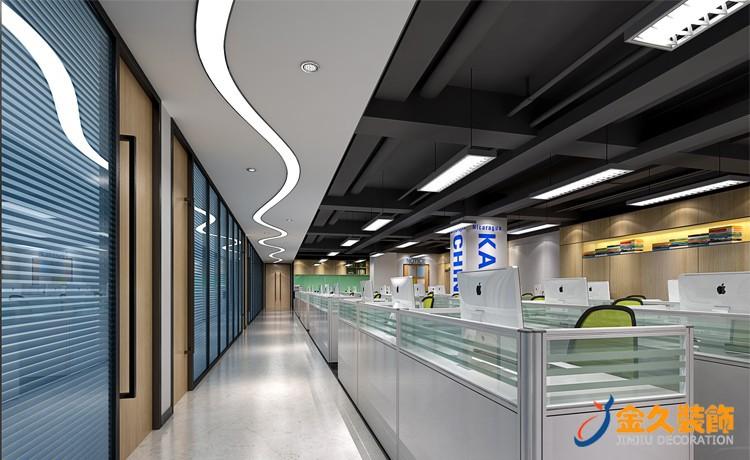 250平现代办公室如何装修设计?现代办公室装修效果图