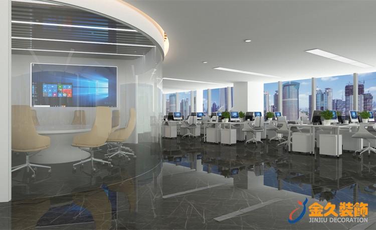 现代风格办公室装修设计