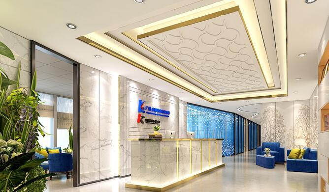 公司前台背景墙如何设计装修?公司前台背景墙设计风格