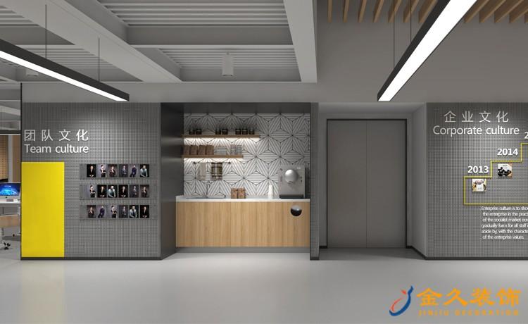 办公室文化墙装修设计效果图
