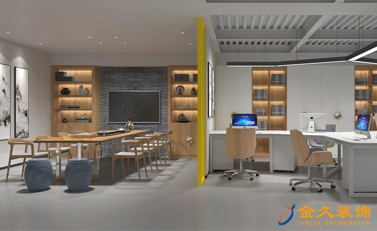 办公室办公区装修设计效果图