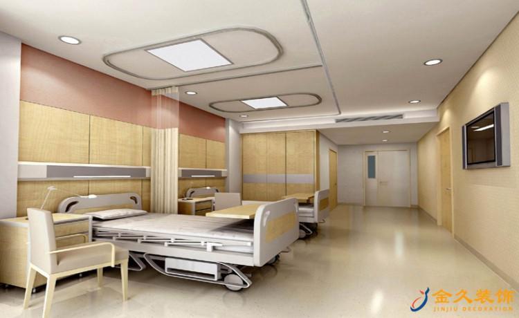 医院病房装修效果图