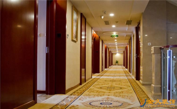 金沙洲酒店室内走廊装修效果图