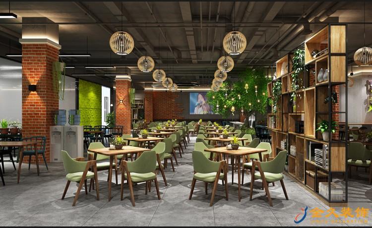 爱齐福餐厅室内装饰效果图