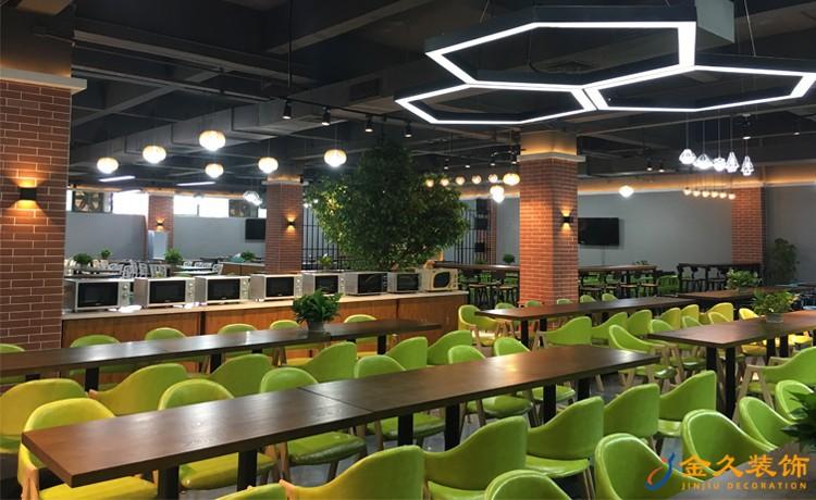 爱齐福餐厅室内装修效果图