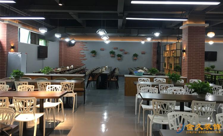 爱齐福餐厅休闲区装修效果图