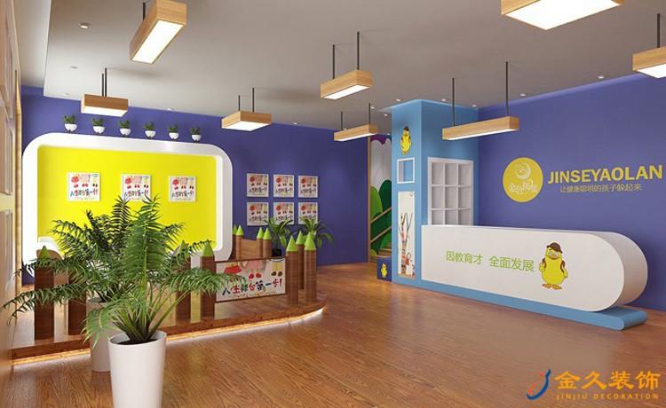 金色摇篮幼儿园宣传区装修效果图
