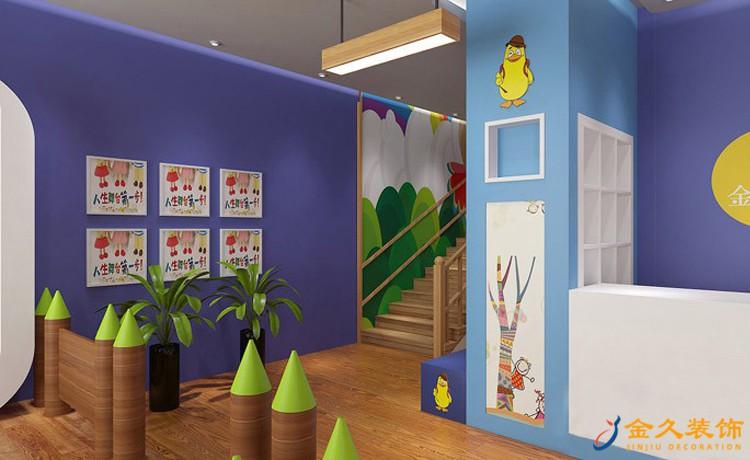 金色摇篮幼儿园室内装修效果图