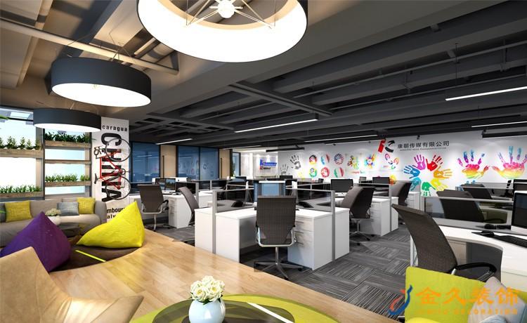 办公空间设计区域布局特点及细节