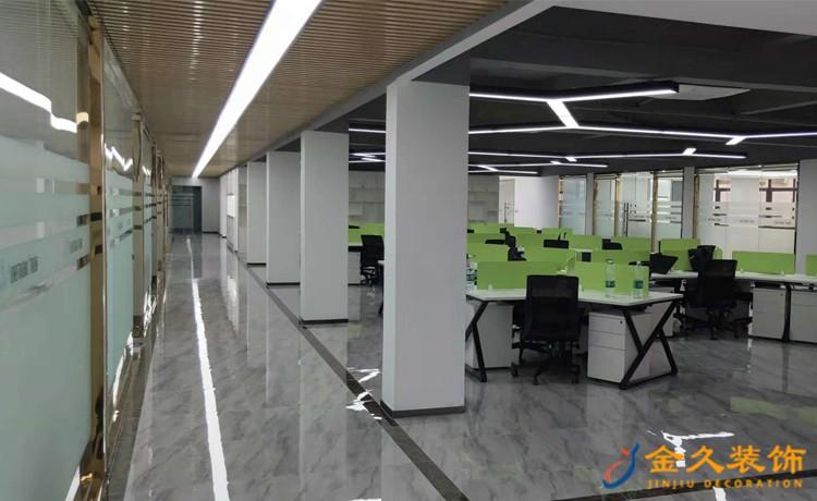 间隔办公室装修设计,办公室间隔装修有什么讲究?