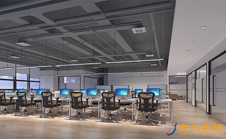 办公室装修各空间面积大小多少合适?