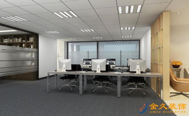 广州办公室装修设计如何避免炫光?