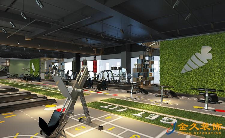 健身房室内装修效果图