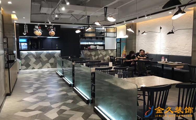 餐厅点餐区装修效果图