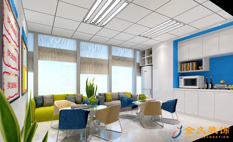学生培训办公室该怎么装修?办公室装修如何突出主题