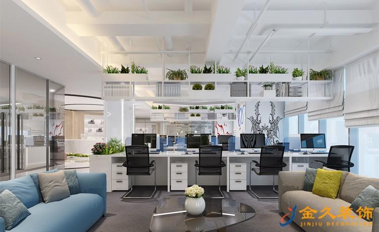 广州办公室装修设计软装起什么样的作用?