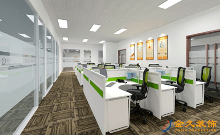 广州办公室装修灯光怎么设计?灯光设计注意事项