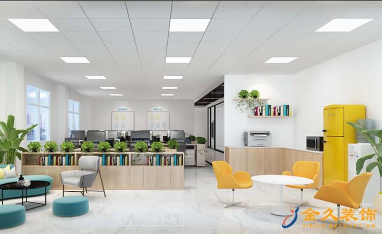 办公室前台背景墙怎样设计才能让公司出彩