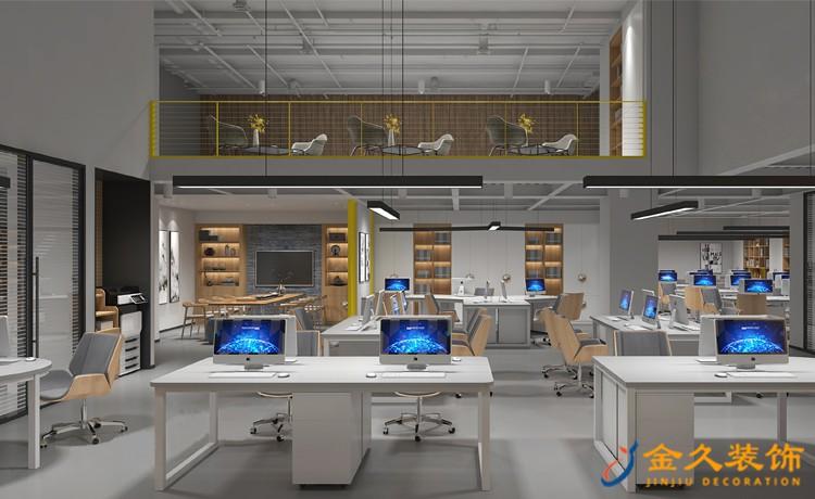 互联网公司办公室装修设计如何诠释科技感?