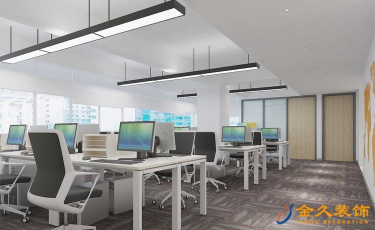 广州办公室装修设计如何考虑采光问题?