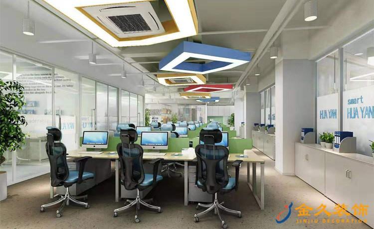 广州办公室装修用什么灯让办公环境更舒适?