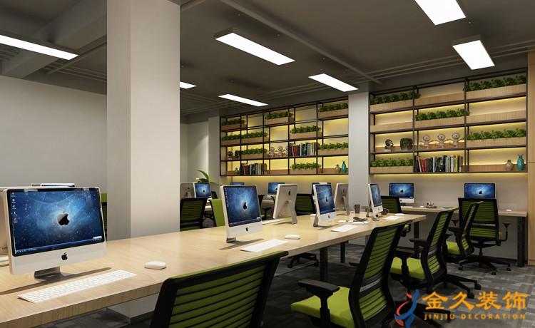 广州办公室装修如何更加明亮?办公室装修注意要点