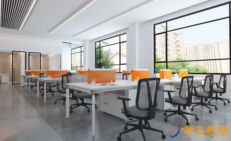 广州办公室装修怎样才能提升公司的魅力