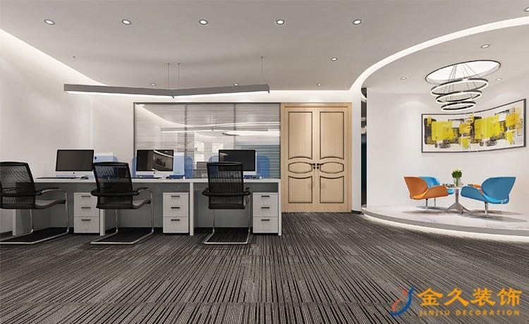 写字楼大厅装修地面铺什么?广州写字楼地面装修注意事项