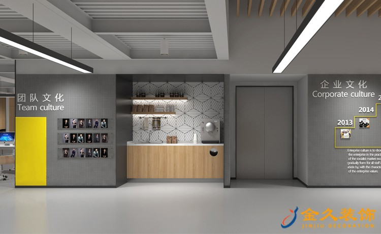 广州办公室文化墙怎么设计?办公室文化墙设计作用