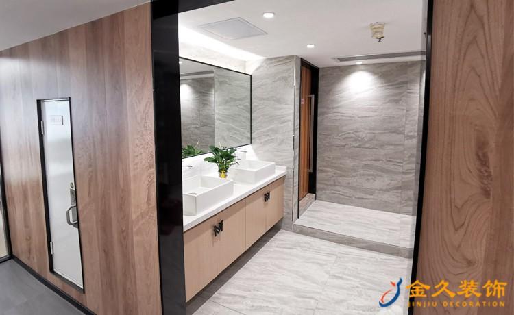 广州办公室卫生间怎么装修?办公室卫生间装修注意事项