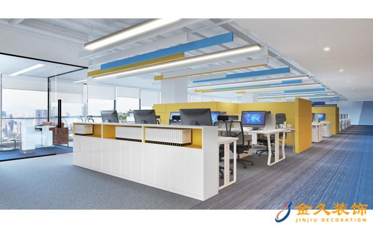 现代简约办公室装修特点及需要注意问题